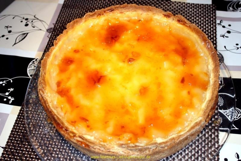 Apfelkuchen mit Riesling