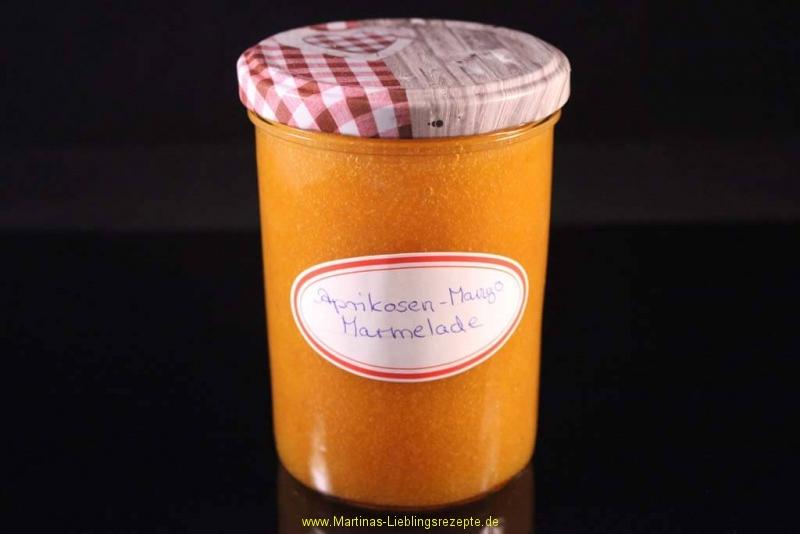 Aprikosen-Mango Marmelade