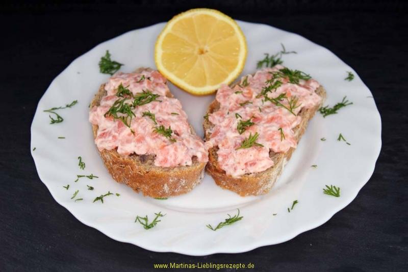 Katerfrühstück mit Lachs