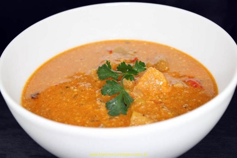 Suppe aus dem Ofen