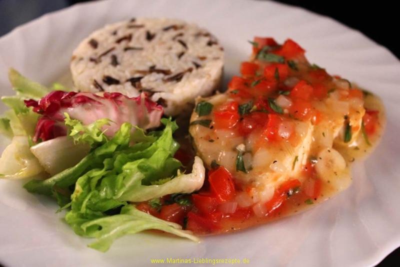 Thunfischsteaks mit Zitronen-Estragon-Sauce