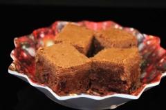 Foto zum Rezept: Brownies mit Cranberries auf www.martinas-lieblingsrezepte.de