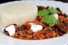 Schnelles Chili con carne mit Zimt
