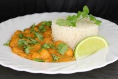 Kichererbsencurry (vegetarisch)