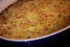 Superfood-Gemüse-Hirse-Auflauf