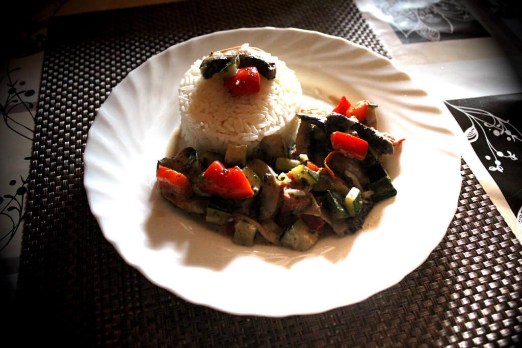 Gemüsepfanne vegetarisch