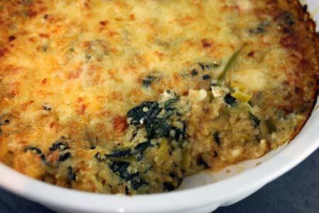 Foto zum Rezept: Vegetarischer Auflauf mit Quinoa auf www.martinas-lieblingsrezepte.de