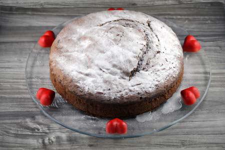 Foto zum Rezept: Saftiger Schokoladenkuchen auf www.martinas-lieblingsrezepte.de