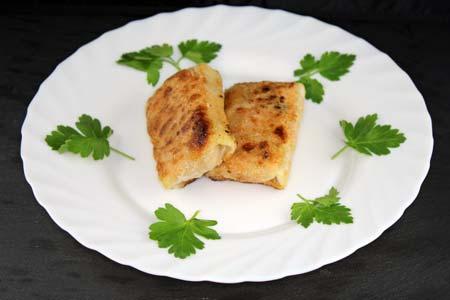 Foto zum Rezept: Kleine Frühlingsrollen, vegetarisch auf www.martinas-lieblingsrezepte.de