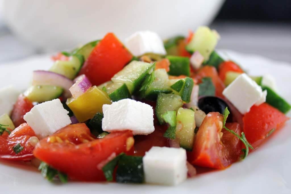 Foto zum Rezept: Martina's Hirtensalat auf www.martinas-lieblingsrezepte.de