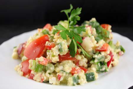 Foto zum Rezept: Power-Salat mit Chilis auf www.martinas-lieblingsrezepte.de