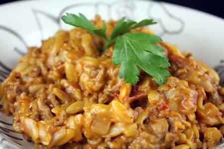 Foto zum Rezept: Kritharaki-Hackauflauf auf www.martinas-lieblingsrezepte.de
