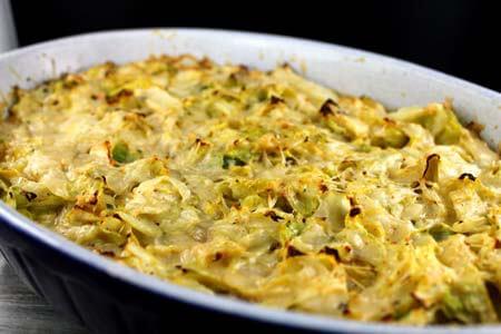 Foto zum Rezept: Spitzkohl-Kartoffel-Hack Auflauf auf www.martinas-lieblingsrezepte.de