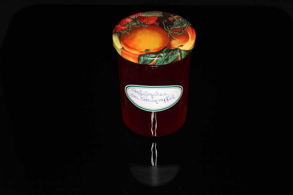 Foto zum Rezept: Apfelgelee vom Königsapfel auf www.martinas-lieblingsrezepte.de