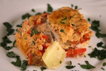 Foto zum Rezept Kartoffel-Kabeljau Auflauf auf www.martinas-lieblingsrezepte.de