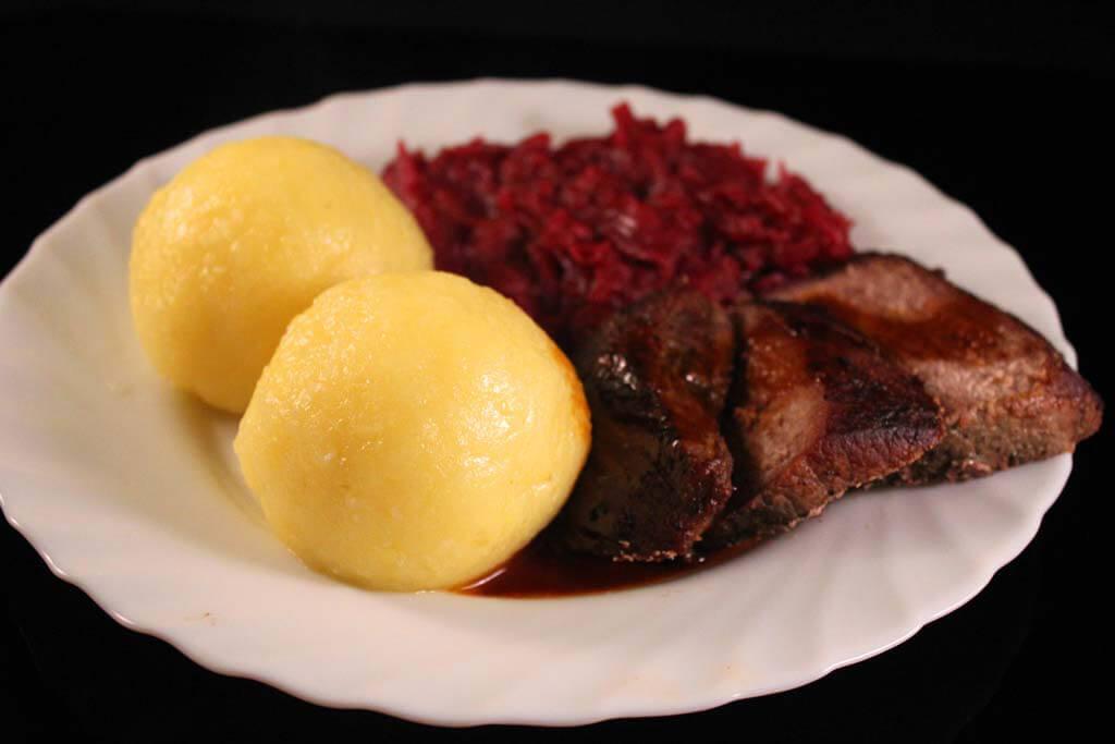 Foto zum Rezept: Festlicher Wildschweinbraten auf www.martinas-lieblingsrezepte.de